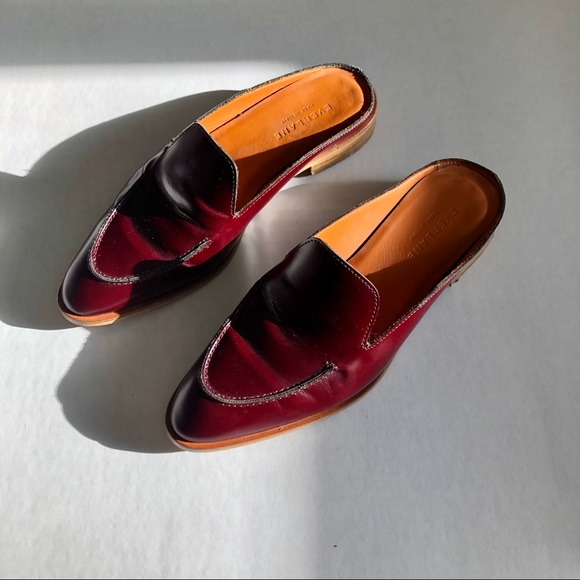 750af668dac Everlane Shoes - Everlane Modern Loafer Mules - Oxblood